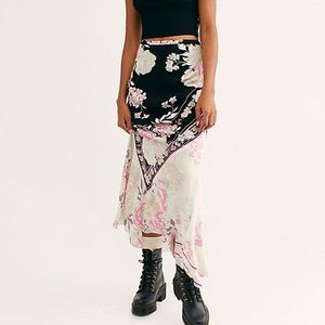 FREE PEOPLE BALI AFTER HOURS MAXI SKIRT SIZE XS